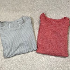 Set of 2 GAPFIT Long Sleeve Athletic Shirts Sz XL